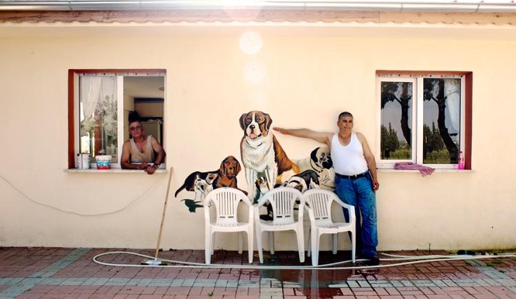Manavgat Barınağı Çalışanları